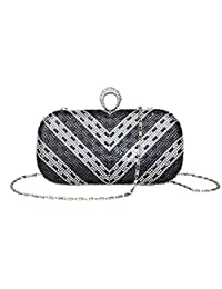 Labair Rhinestone Evening Bag Clutch Purse for Women for Wedding and Party.