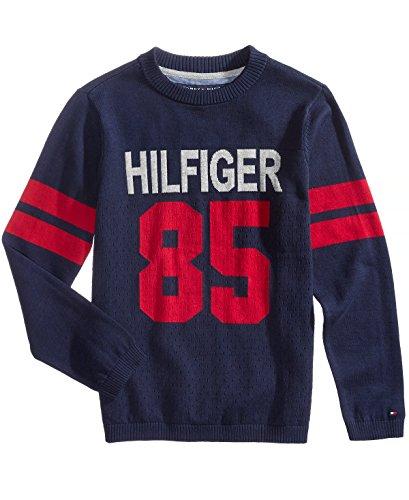 Tommy Hilfiger Boys Logo Intarsia Sweater (2 2T)