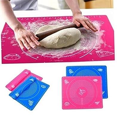 JASSINS Silicone Roll Cut Mat Rolling Cutting Pad Fondant Cake Dough Decorating Tool li3