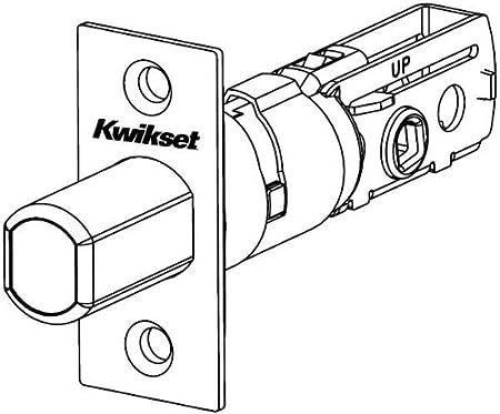 Amazon Com Kwikset 81257 15 Ul Adjustable Square Deadbolt Latch