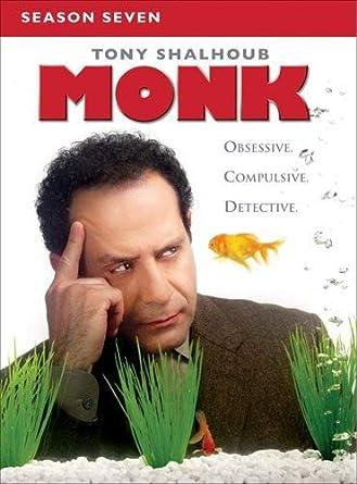 Amazon Com Monk Season 7 Tony Shalhoub Traylor Howard Jason Gray Stanford Ted Levine Movies Tv