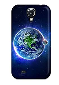 Premium Earths Desktop Desktop Heavy-duty Protection Case For Galaxy S4