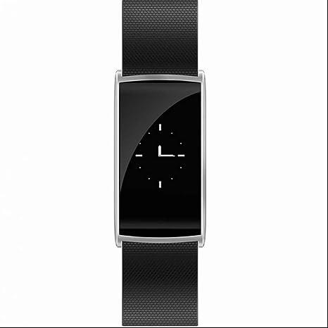 Brazalete de fitness Medidor de frecuencia cardíaca Smart Reloj de pulsera Fitness Tracker Tensiómetro de pulsera