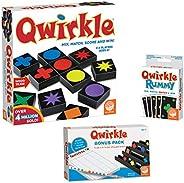 MindWare Qwirkle kit: Qwirkle Board Game, Qwirkle Rummy, and Qwirkle Bonus Pack