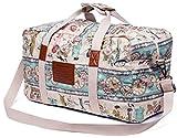 Malirona Canvas Weekender Bag Travel Duffel Bag for Weekend Overnight Trip (Noble Girl)