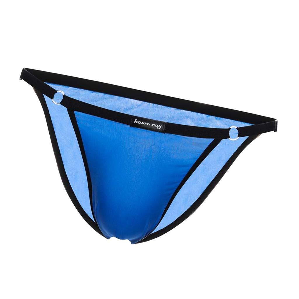 Baoblaze Herren String Tanga Transparent Unterw/äsche Bikinislip H/öschen Unterhose Brief Shorts
