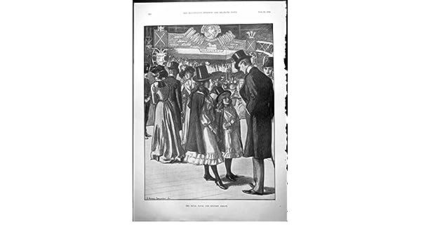 Impresión Antigua del Caballero Militar Naval Real del Bazar ...