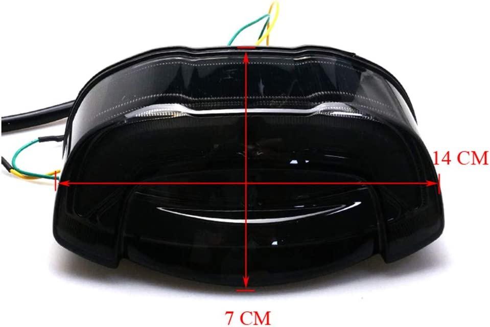 Motorcycle Turn Signal Tail Light Brake Integrated Light Rear LED Taillights For Yamaha YZF R3 R25 2014-2019 MT-03 MT-25 2015-201 MT-07 FZ-07 2014-2017