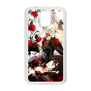 samsung galaxy s5 White Vampire Knight phone case cell phone cases&Gift Holiday&Christmas Gifts NVFL7N8825545