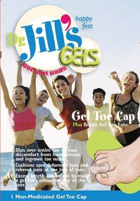 Dr. Jills Gel Toe Cap (2 Pack) by Dr. Jill's B00281UG58