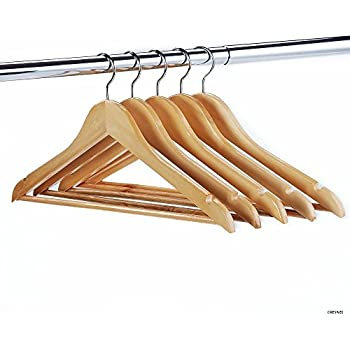 Ikea wood clothes hanger 8 pack natural for Wooden hangers ikea