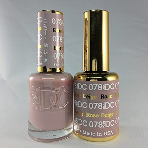 DND DC Duo Gel + Polish - 078 Rose Beige