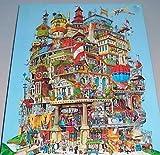 Springbok Verticalville Puzzle 500 pc EC