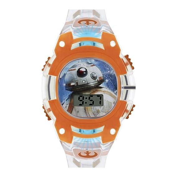Star Wars Reloj Niños de Digital con Correa en PU SWJ4036: Amazon.es: Relojes