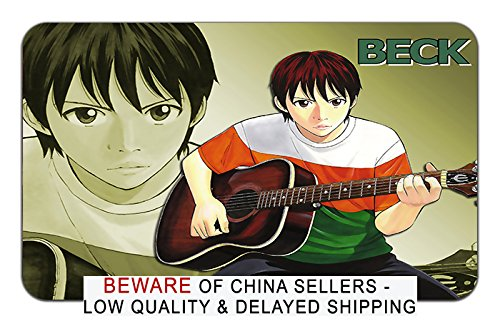 Beck Wall Scroll - Beck Anime Stylish Playmat Mousepad (24 x 14) inches [MP] Beck-1
