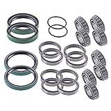 Polaris Sportsman/Worker front wheel bearings & seals kit 335/400/500