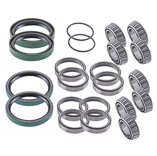 East Lake Axle front wheel bearings & seals kit compatible with Polaris Sportsman/Worker 335/400 / 500