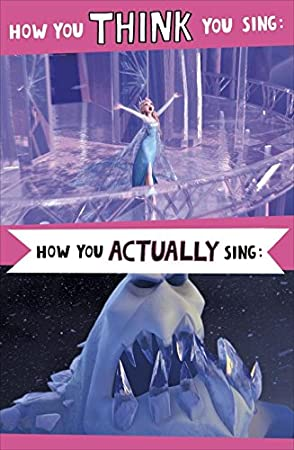 Ecards Uk Omnigate Frozen Humour Elsa How You Think Sing Birthday Card