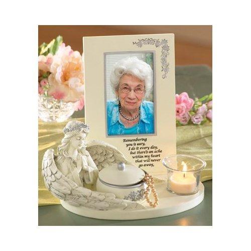 - Memorial Angel Keepsake Picture Frame