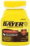 Genuine Bayer Aspirin 325mg Tablets  200 Coated Tablets, Health Care Stuffs