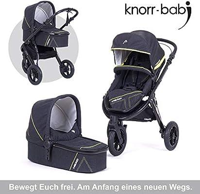 Knorr baby Head Cochecito de bebé de 3 ruedas gris gris