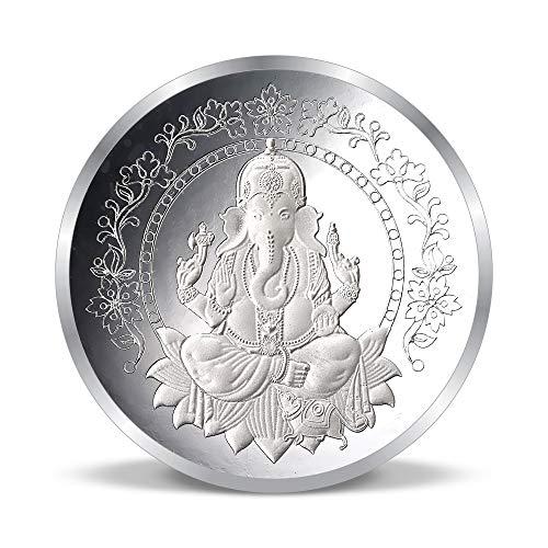 ACPL Precious Moments Silver Coin Lord Ganesha 10 gm 999 Pure