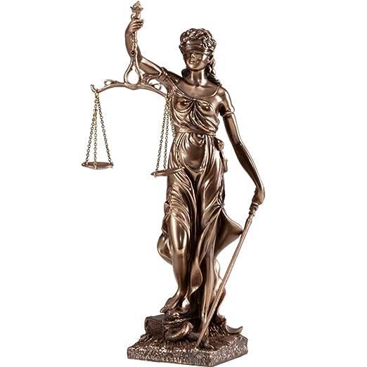 SDBRKYH Diosa Griega Escultura, Diosa de la Justicia Themis ...