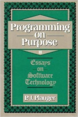 essay iii programming purpose software technology Describe five technology and business trends that have enhanced the role of information a computer program technology dimensions: hardware, software.
