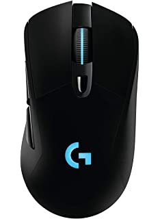 29360319655 Logitech G703 Lightspeed Wireless Gaming Mouse W/Hero 16K Sensor, Lightsync  RGB, PowerPlay