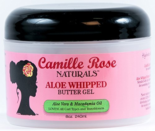 Camille Rose Naturals Aloe Whipped Butter Gel, 8 ()