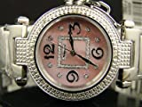New Ladies Jojino Pink Genuine 12 Diamond Watch MJ-1050
