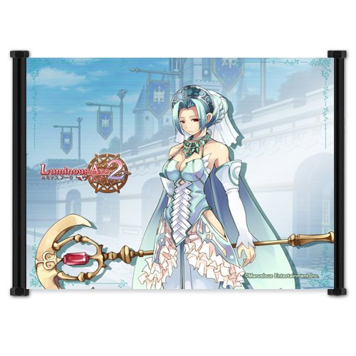 """Luminous Arc Game Fabric Wall Scroll Poster (21""""x16"""") Inches"""