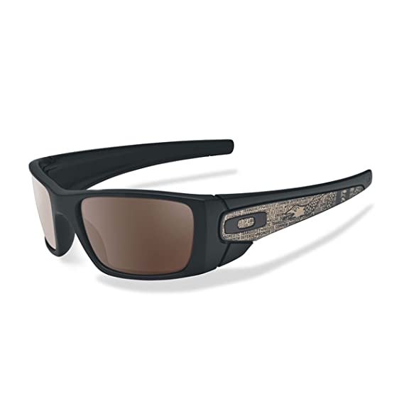 3ba4c2eb482 Oakley Military SI Fuel Cell Sunglasses One Size Matte Black Warm Grey   Amazon.co.uk  Clothing