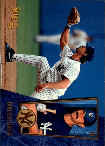 1995 Select Baseball Card #101 Don Mattingly (1995 Score Baseball)