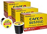 Cheap Cafe Bustelo K-Cup Packs, Espresso Style, 12 Count (Pack 3 Boxes) Total 36 pods