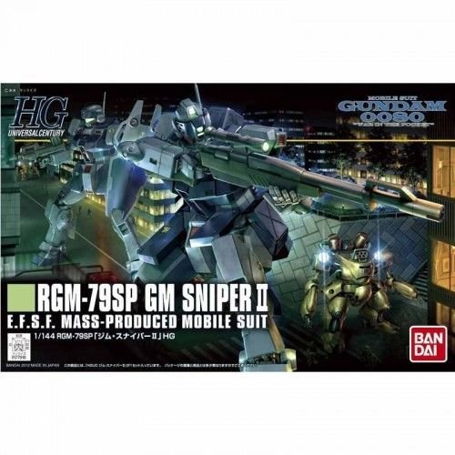 (Bandai Hobby #146 GM Sniper II 1/144th HGUC Action Figure)
