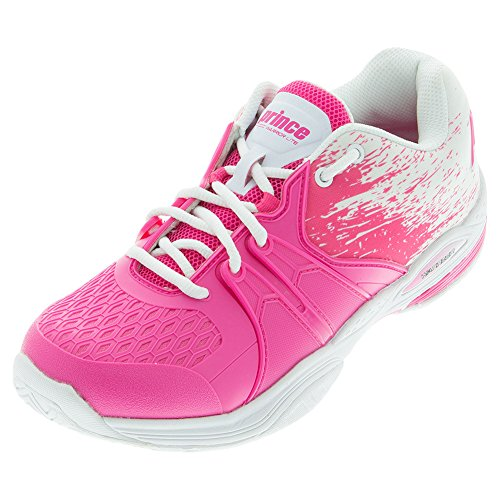 Pink Pink White Shoe Warrior Prince Lite White Tennis Women's qgAvwnpHT