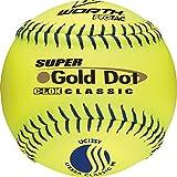 Worth 12'' USSSA Gold Dot Classic Slowpitch Softballs (Dozen)