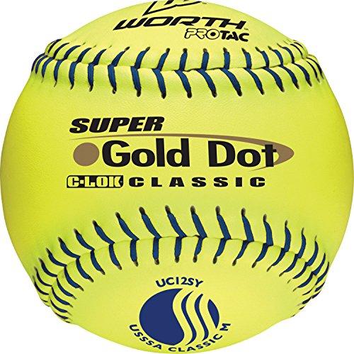 Worth Balls Slow Pitch Softballs (Worth 12