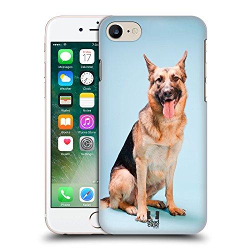 Head Case Designs Pastore Tedesco Cane Razze Famose Di Cani Cover Retro Rigida per Apple iPhone 7 / 8