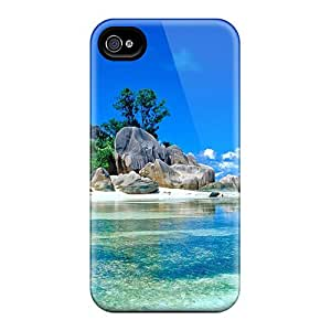 Ideal Mtwilliam Case Cover For Iphone 4/4s(beautiful Seychelles), Protective Stylish Case