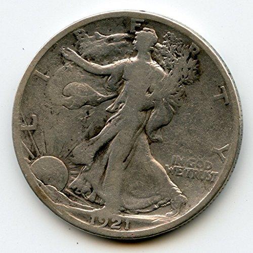 1921 S Walking Liberty Half Dollar G-06