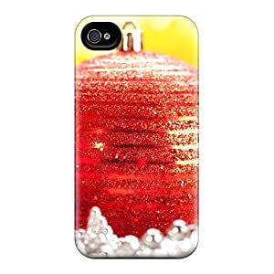 ChJ20223BDKM Favorcase Awesome Cases Covers Compatible With Iphone 6 - Red Christmas Balls
