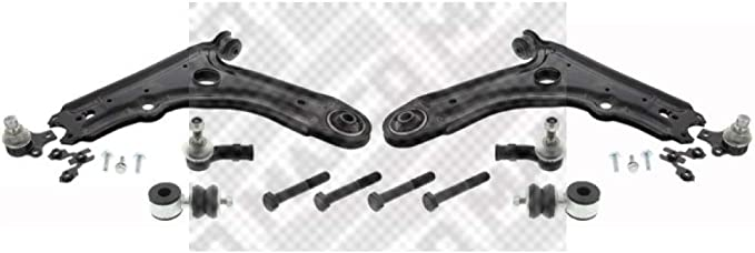 Mapco 53870 Querlenker Links Und Rechts Mit Koppelstangen Und Spurstangenköpfe Auto
