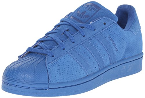 adidas Originals Superstar J Casual Low-Cut Basketball Sneaker (Big Kid), Eqt Blue/Eqt Blue/Eqt Blue, 5 M US Big Kid