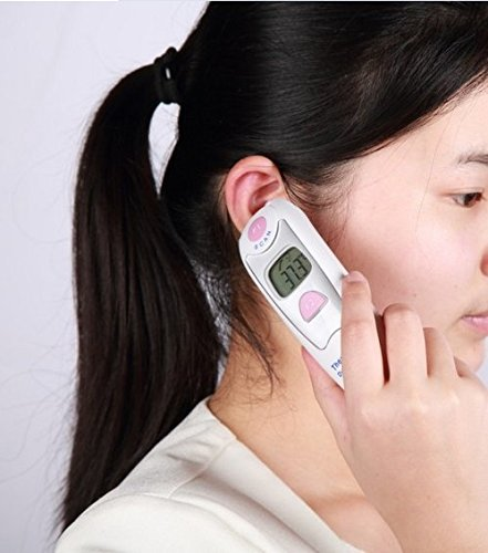 Lance Infrared Dual Ear and Forehead Thermometer, CE and FDA Approved, Five Year Guarantee From Defects From Normal Use