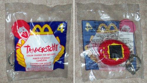 McDonalds - TAMAGOTCHI #4 - Color Change Toy Key Ring - 1998