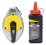 Stanley FatMax Xtreme 47-487L Chalk Reel with Red Xtreme Chalk Kit