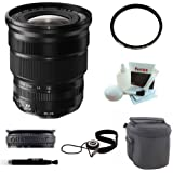 Fujifilm XF 10-24mm f/4 R OIS Lens + 77mm UV Protector + Small Nylon Padded Lens Pouch + Focus 5 Piece Deluxe Cleaning and Care Kit + Deluxe Accessory Kit
