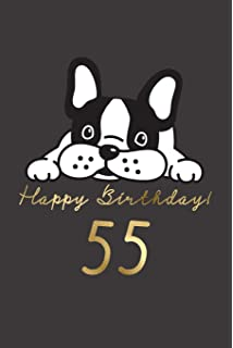 Happy Birthday 55 55th Gift Book For Messages Wishes Journaling